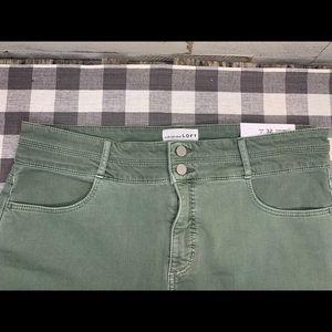 Loft High Waist Skinny Slim Pockets pants